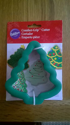 Wilton Christmas Tree Comfort Grip Cutter New