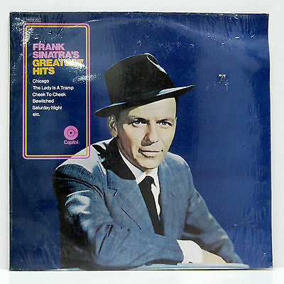Frank Sinatra      Greatest Hits        Capitol       Sealed        NM # 49