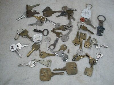 LOT OF KEYS OLD Vintage Antique House Car Cabinet Lock