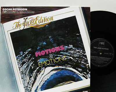 Oscar Peterson     Motions  &  Emotions       MPS         NM # 43