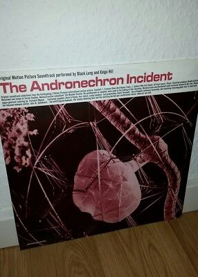 """Black Lung & Xingu Hill - The Andronechron Incident 10"""" Ant-Zen Noise"""