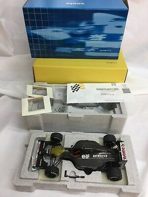 EXOTO Carbon Williams FW 14B GPC 97114 Pre-Season Testing 1:18