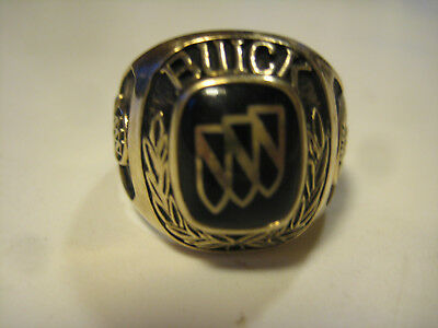 Buick Salesmans Ring 10K Gold 1995 Professional Sales Master Club with Crest