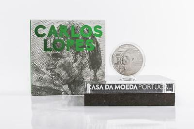 Portugal 7,5 Euro Silber 2017 Carlos Lopes Proof