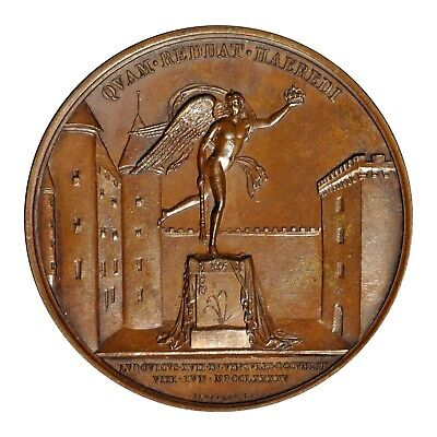 Louis XVII Death of the Dauphin Medal