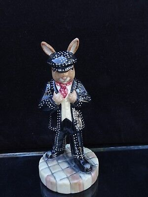 "Royal Doulton Bunnykins ""pearly King"" Figurine ~ Db 411 ~ L.e. 165 Of 500"