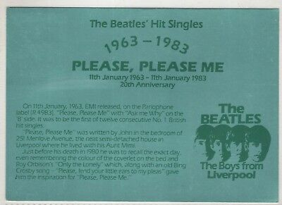 xc music postcard musical people pop rock the beatles liverpool england