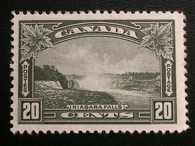 Canada Stamp 1935 Scott# 225 King George 20 Cents Niagara Falls Mint VF NH OG