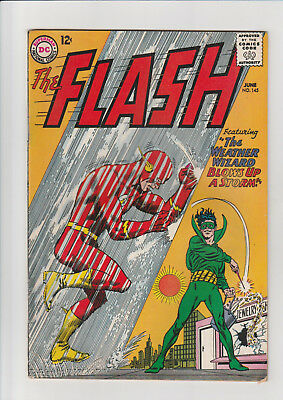 The Flash #145 (Jun 1964, DC) VG Weather Wizard