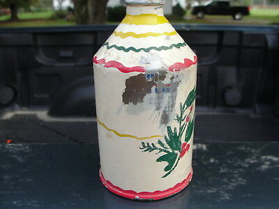 Tole paint crowntainer cone top beer can