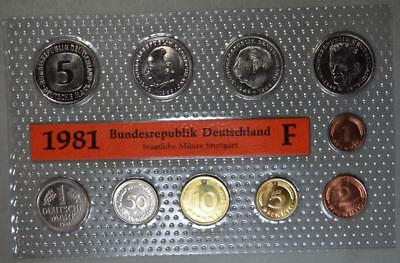 Germany 1981-F Mint Set