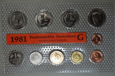 Germany 1981-G Mint Set