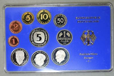 Germany 1981-F Proof Set