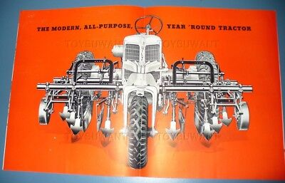 Silver King 3 Wheel Tractor Advertising Booklet Fate Root Heath Ohio Hercules Oh