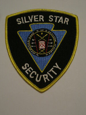 Silver Star Security Patch Casino Mississippi band of Choctaw Indians Tribal