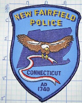 Connecticut, New Fairfield Police Dept Patch