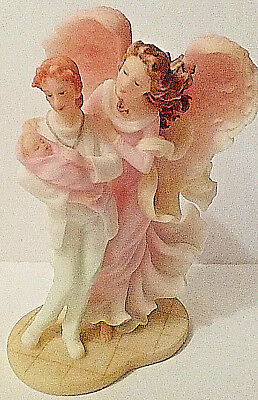 SERAPHIM CLASSICS Angel with Medical Professional and Baby CARING TOUCH #81874