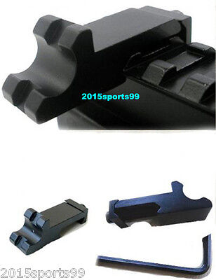 Tactical 45 degree Angle Offset Side  Rail Scope Mount  Picatinny Rail PAIR