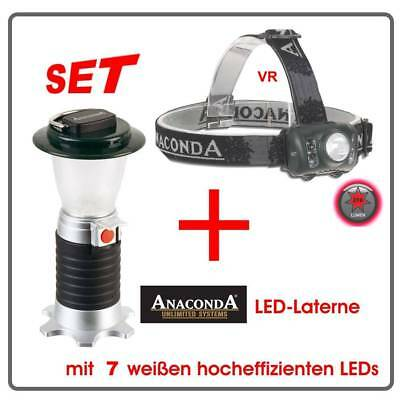 ANACONDA LED-Laterne Vulcano + Tiki Taka VR7 Power LED Deluxe Kopflampe