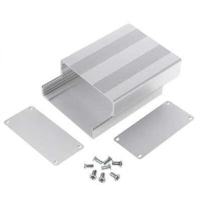 130x110x50mm  Aluminum Enclosure Box Case Project Electronic For PCB Board DIY