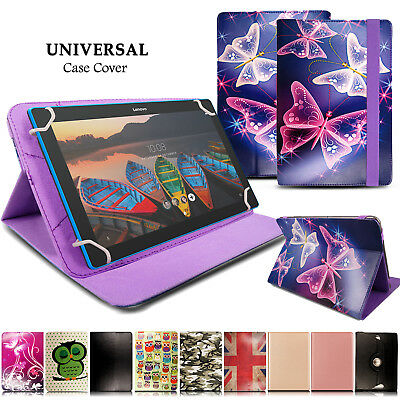 Universal Leather Stand & Rotate Case Cover For Lenovo TB-X103F 10.1 Inch Tablet