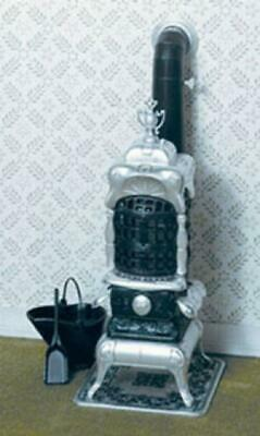 Melody Jane Dolls House Chrysnbon Parlour Stove Kit 1:12 Scale Model Kit F-210