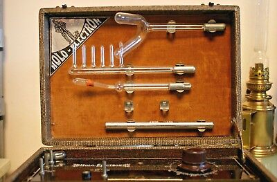 Vintage French Holo Electron Paris Portable Case with Health Benefits