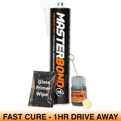 Car Van Bus Lorry Glass Screen Windscreen Bond Bonding Glue Adhesive Fitting Kit