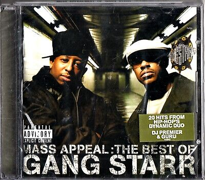 Gang Starr- Mass Appeal, The Best Of CD (NEW SEALED 2006) Greatest Hits HIP HOP