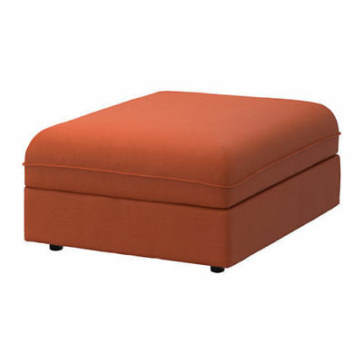 Ikea Vallentuna Seat Module COVER For Modular Sofa Ramna Orange 003.362.05