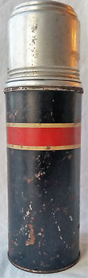 American Thermos Bottle Co No. B-7 1/2 Cork Stopper Shows its Age Aluminum Glass