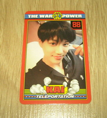 EXO K M 4th Repackage Album The Power of Music Kai A Photo Card Official