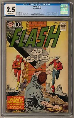 Flash #123 CGC 2.5 (OW) 1st Golden Flash in Silver Age