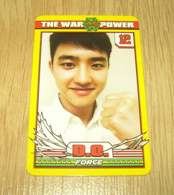 EXO K M 4th Repackage Album The Power of Music Dio D.O A Photo Card Official