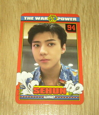 EXO K M 4th Repackage Album The Power of Music Sehun B Photo Card Official