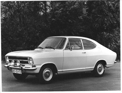 1973 Opel Kadett Coupe ORIGINAL Factory Photo oua1454