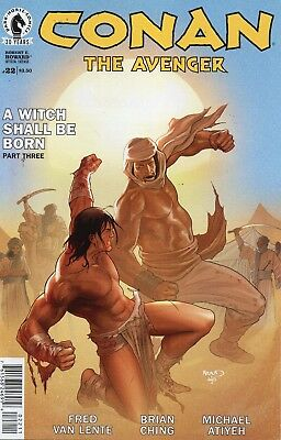 Conan The Avenger #22 (NM)`16 Van Lente/ Ching