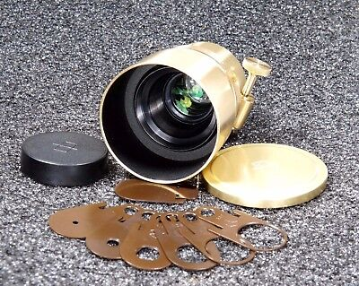 Lomography Petzval 58mm f/1.9 Bokeh Control for Canon EOS EF Mount Lens Gold