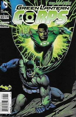 Green Lantern Corps No.33 / 2014 Batman 75th Variant Cover Edition / The New 52!