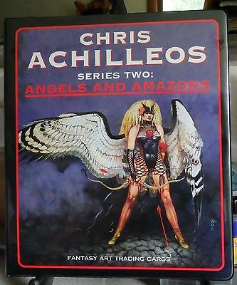 Chris Achilleos Series Two 90-Card Set In Official Binder-1994-Fantasy Art Cards