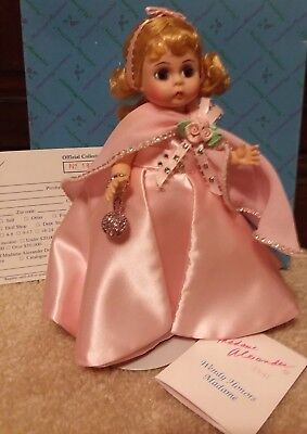 """Mint 1993 Madame Alexander 8"""" Doll Wendy Honors Madame Self Portrait New in Box"""