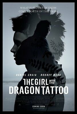 Girl With The Dragon Tattoo Movie Poster #04 24in x 36in