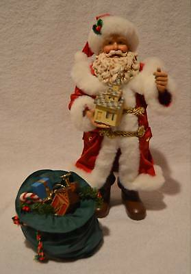 Possible Dreams CLOTHTIQUE SANTA Holding CHURCH 713207 A SPECIAL PLACE With Box