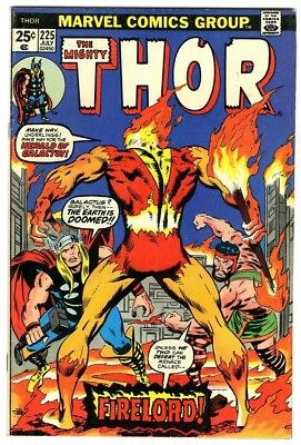 Thor #225 (1974) Fine+ Marvel Comics First appearance of Firelord