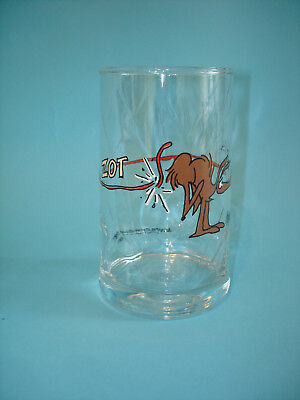 B.C. Comic Strip Anteater Glass ZOT - Arby's BC Ice Age Collectors Series 1981