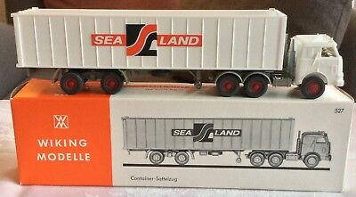 Alter Wiking Sealand Containerzug #527, M/B, 70iger, 1:87(HO)