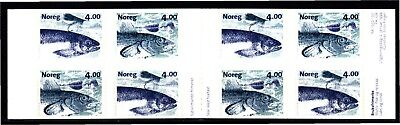 Norway 1999 Fishes S/a Complete Booklet (11) Mint Never Hinged