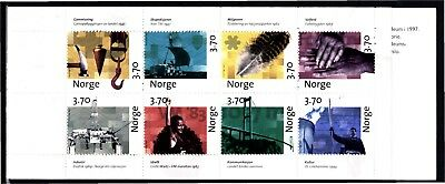 Norway 1997 Postal Service Complete Booklet (12) Mint Never Hinged