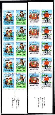 Norway 1984 Egner 2 X Complete Booklets (13) Mint Never Hinged