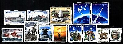 Norway 1991 Commemoratives (17) Mint Never Hinged